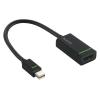 Leitz DisplayPort, mini, HDMI adapter, LEITZ  Complete , fekete