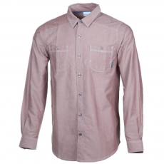 Columbia Stirling Trail Long Sleeve Shirt D (1681813-p_837-Deep Rust)