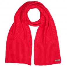 Columbia Cabled Cutie Scarf Sál D (1625051-p_653-Red Camellia)