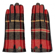 Tommy Hilfiger Női kesztyűk TOMMY HILFIGER - Winter Check Woven Gloves AW0AW03344 S/M 901