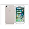 Apple iPhone 7 eredeti gyári szilikon hátlap - MMWR2ZM/A - stone