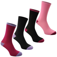 Miss Fiori Hi Toe 4 darabos női zokni 37-42