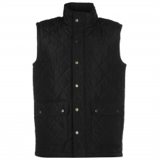Pierre Cardin Quilted férfi mellény fekete M