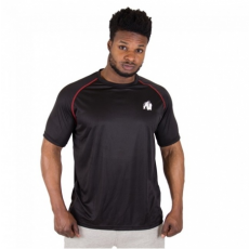 PERFORMANCE T-SHIRT (BLACK/RED) [S]