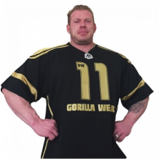GW ATHLETE T-SHIRT DENNIS WOLF (BLACK/GOLD) [XXL]