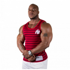 STRIPE STRETCH TANK TOP (RED) [L/XL]