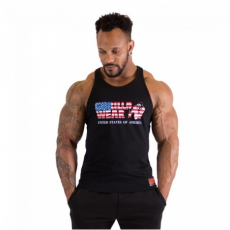 USA TANKTOP (BLACK) [L]