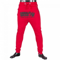 ALABAMA DROP CROTCH JOGGERS - RED (RED) [M]