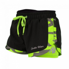 DENVER SHORT (BLACK/LIME) [XS]