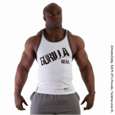 STAMINA  RIB TANK TOP (PURE WHITE) [M]