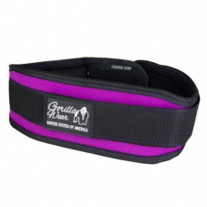 WOMENS LIFTING BELT (BLACK/PURPLE) [S]
