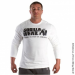 RUBBER PRINTED LONG SLEEVE (PURE WHITE) [S]