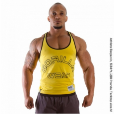 LOGO STRINGER TANK TOP (YELLOW) [S]