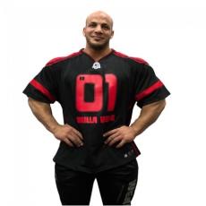 GW ATHLETE T-SHIRT BIG RAMY (BLACK/RED) [XL]