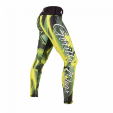 RENO TIGHTS (GREEN/YELLOW) [L]
