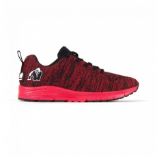 BROOKLYN KNITTED SNEAKERS - RED/BLACK (RED/BLACK) [36]