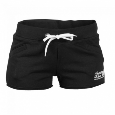 WOMEN'S NEW JERSEY SWEAT SHORT BLACK (BLACK) [M]