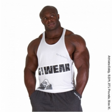 G!WEAR STRINGER TANK TOP (WHITE) [XL]