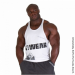 G!WEAR STRINGER TANK TOP (WHITE) [XXL]