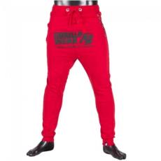 ALABAMA DROP CROTCH JOGGERS - RED (RED) [XXXXL]