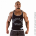 LOGO STRINGER TANK TOP (BLACK) [XXXL]