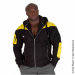 DISTURBED JACKET (BLACK/YELLOW) [XL]