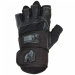 DALLAS WRIST WRAP GLOVES (BLACK) [XL]