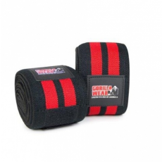 KNEE WRAPS (BLACK/RED) [200CM/79IN]