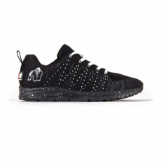 BROOKLYN KNITTED SNEAKERS - BLACK/WHITE (BLACK/WHITE) [43]