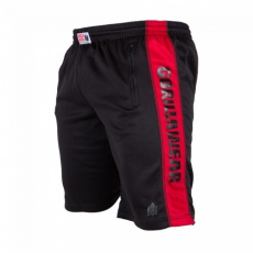 TRACK SHORTS (BLACK/RED) [L/XL]