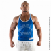 LOGO STRINGER TANK TOP (ROYAL BLUE) [S]
