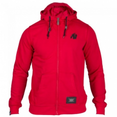 CLASSIC ZIPPED HOODIE RED (RED) [XL]