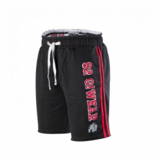 82 SWEAT SHORTS (BLACK/RED) [2XL/3XL]