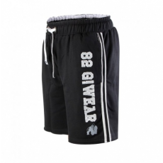 82 SWEAT SHORTS (BLACK/GRAY) [2XL/3XL]