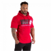BOSTON HOODIE SHORT SLEEVE (RED) [L]