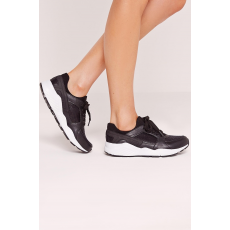 Missguided Cipő Embossed Outsole Croc Trainer