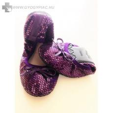 Scholl Pocket Balerina cipő lila színben 1 pár + 1pár ajándék!