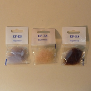 EF-ES világosbarna nappali hajháló