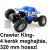 Crawler King távirányítós autó: 320 mm hossz, 4 kerék meghajtás!