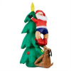 oneConcept oneConcept Santa on Tree felfújható télapó, 150 cm, kompresszor, 6 LED fény