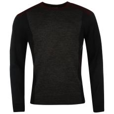 Pierre Cardin Panel férfi kötött pulóver sötétszürke XXL