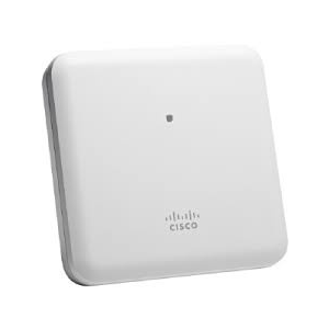 Cisco 2800i Power over Ethernet (PoE) White Indoor, Dual-Band, Controller-Based 802.11a/g/n/ac, 2 x 100/1000BASE-T RJ-45, 1 x Console RJ-45, Internal Antenn