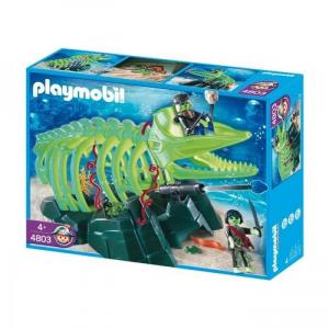 Playmobil 4803 - Óriás cet kisértet csontváz