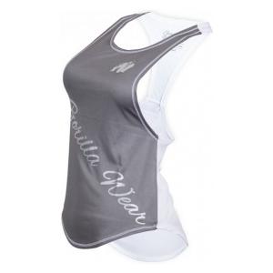 Gorilla Wear Florida Stringer Tank Top (szürke-fehér) (1 db)
