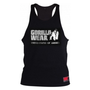 Gorilla Wear Classic trikó (fekete-ezüst) (1 db)