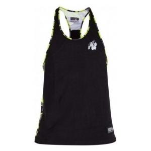 Gorilla Wear Sacramento Camo Mesh trikó (fekete-neon lime) (1 db)