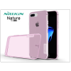 Apple iPhone 7 Plus szilikon hátlap - Nillkin Nature - pink