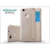 Huawei Nova oldalra nyíló flipes tok - Nillkin Sparkle - gold
