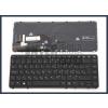 HP Elitebook 750 G1 trackpointtal (pointer) háttérvilágítással (backlit) fekete magyar (HU) laptop/notebook billentyűzet