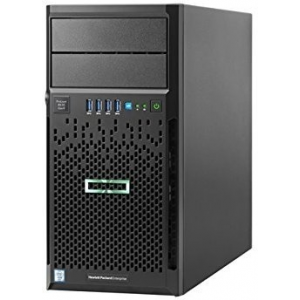 HP Hewlett Packard Enterprise ProLiant ML30 Gen9 Intel Xeon E3-1220v5 (3.0GHz, 8MB), 4GB (1 x 4GB) DDR4, 4 LFF HDD, Dynamic Smart Array B140i, 350W PS 8